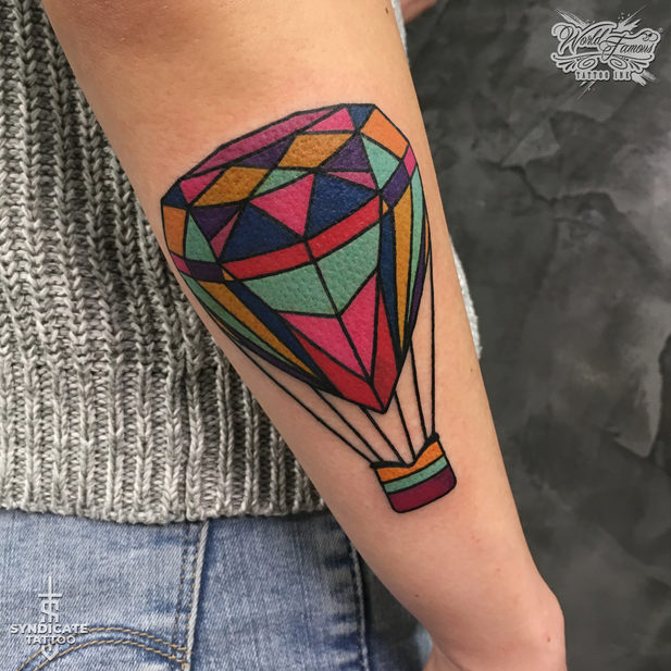 тату в стиле traditional, colortattoo, мастер Олег Бэрримор